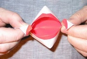 Origami Talking mouth by Robin Glynn on giladorigami.com