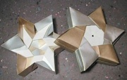Origami 6 pointed star box by Robin Glynn on giladorigami.com