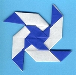 Origami Twist decoration by Jeff Beynon on giladorigami.com