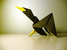 Origami Cormorant by Andrew Hudson on giladorigami.com
