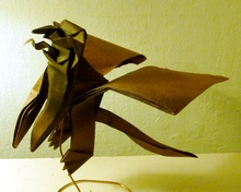 Origami Flying monkey by Andrew Hudson on giladorigami.com