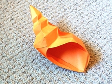 Origami Whelk by Herman van Goubergen on giladorigami.com