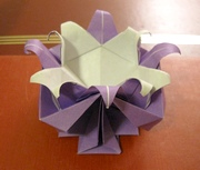 Origami Vase - impossible by Fred Rohm on giladorigami.com
