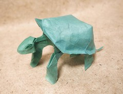 Origami Tortoise by Nguyen Hung Cuong on giladorigami.com