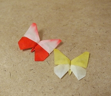 Origami Minamimachi butterfly by Robert J. Lang on giladorigami.com
