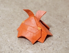Origami Flapjack octopus by Nakai Tsutomu on giladorigami.com