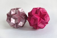 Origami Star ball by Jeannine Mosely on giladorigami.com