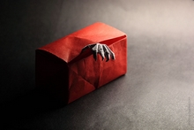 Origami Monster in a box by Eugeny Fridrikh on giladorigami.com