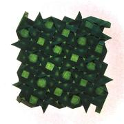 15 Iscoceles Tetrahedra (Daniel Kwan) | Origami models, Crafts ... | 180x180