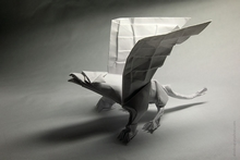 Origami Griffin (part 1) by Manuel Sirgo on giladorigami.com