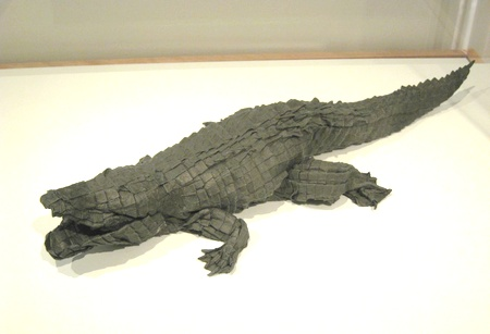 Origami Alligator - American by Michael G. LaFosse on giladorigami.com