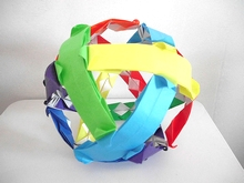Origami Curled sphere by Byriah Loper on giladorigami.com