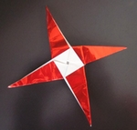 Origami Star decoration by Jun Maekawa on giladorigami.com