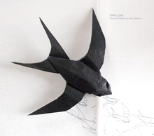 Origami Swallow by Sipho Mabona on giladorigami.com