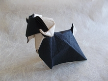 Origami Goat by Nguyen Hung Cuong on giladorigami.com