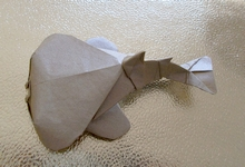 Origami Electric ray by Nguyen Ngoc Vu on giladorigami.com