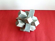 Origami Puzzle - cluster by Peter Ford on giladorigami.com