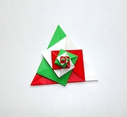 Origami Spiral decoration 3 by Tomoko Fuse on giladorigami.com