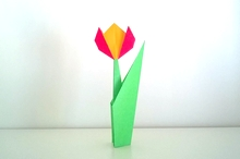 Origami Tulip by Gay Merrill Gross on giladorigami.com