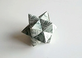 Origami Burr puzzle by Robert J. Lang on giladorigami.com
