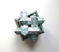 Origami 6 intersecting squares by Jorge C. Lucero on giladorigami.com