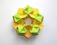 Origami Stargate by David Mitchell on giladorigami.com
