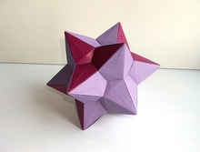 Origami Small stellated triacontahedron by Francesco Mancini on giladorigami.com