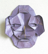 Origami Mask by Klaus Dieter Ennen on giladorigami.com