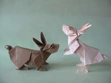 Origami Rabbit by Ronald Koh on giladorigami.com