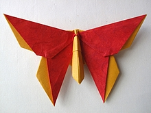 Origami Butterfly - Jane Winchell by Michael G. LaFosse on giladorigami.com