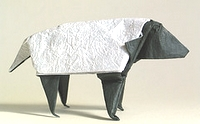 Origami Sheep by Stephen O