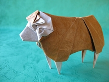 Origami Sheep by Yoo Tae Yong on giladorigami.com