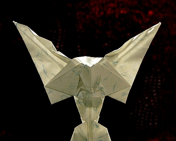Origami Tutorials easy_How to make origami paper wings heart_Paper ... | 289x361