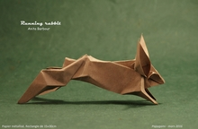 Origami Rabbit by Anita F. Barbour on giladorigami.com