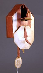 Origami Cuckoo clock by Robert J. Lang on giladorigami.com