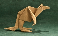 Origami Kangaroo by Robert J. Lang on giladorigami.com