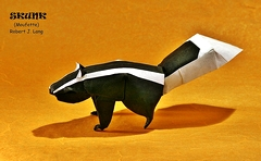 Origami Skunk by Robert J. Lang on giladorigami.com
