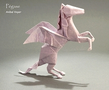 Origami Pegasus by Jose Anibal Voyer on giladorigami.com