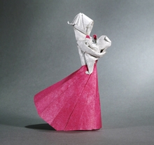 Origami Mother and child by Stephen Weiss on giladorigami.com