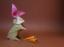 Origami Rabbit by Andrey Ermakov on giladorigami.com