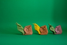 Origami Snail by Sergio Spinolo on giladorigami.com