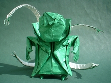 Origami Doctor octopus by Eileen Tan on giladorigami.com