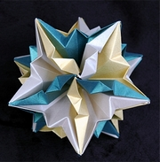 Origami Sappho by David Mitchell on giladorigami.com