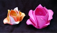 Origami Rose - not Kawasaki by Jeremy Shafer on giladorigami.com