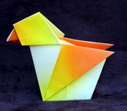 Origami Flapping talking bird by Masatsugu Tsutsumi on giladorigami.com