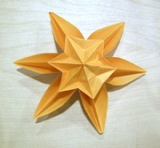 Origami Snowflower by Philip Shen on giladorigami.com