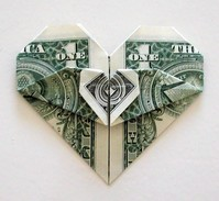 Origami Heart in heart by Sy Chen on giladorigami.com
