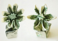 Origami Flower in a pot by Herman Lau on giladorigami.com