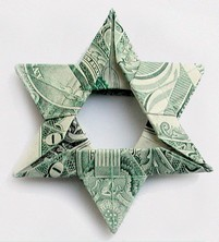Origami Star of David by Fred Rohm on giladorigami.com