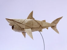 Origami Great white shark by Nguyen Hung Cuong on giladorigami.com